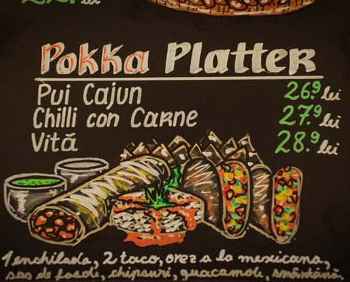 Imagine cu meniul Pokka Platter de la Iulius Mall.