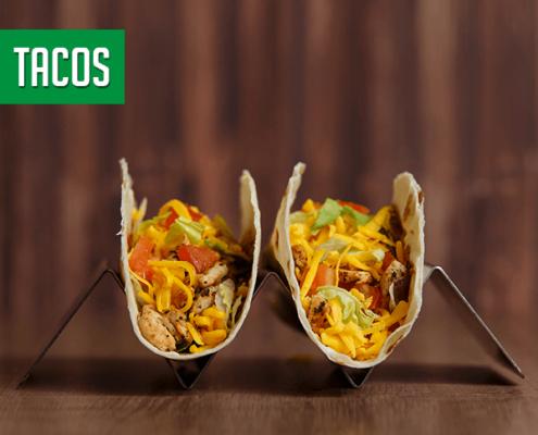 Imagine cu Tacos de pui Pokka.