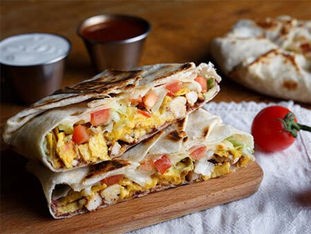 Imagine cu Crunchwrap Omelette