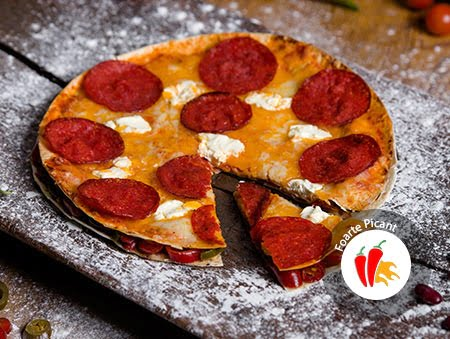 Imagine cu Chorizo Pizza