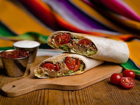 Imagine cu Pulled pork burrito